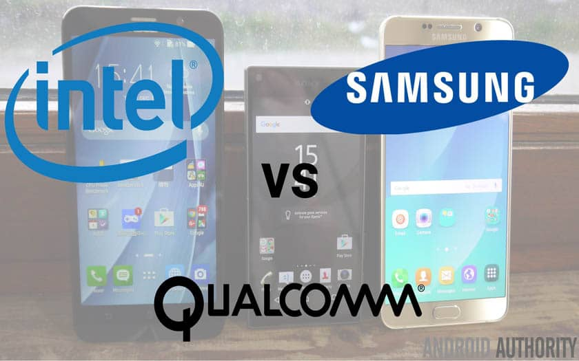 Intel Qualcomm Samsung