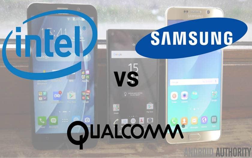 Intel Qualcomm Samsung