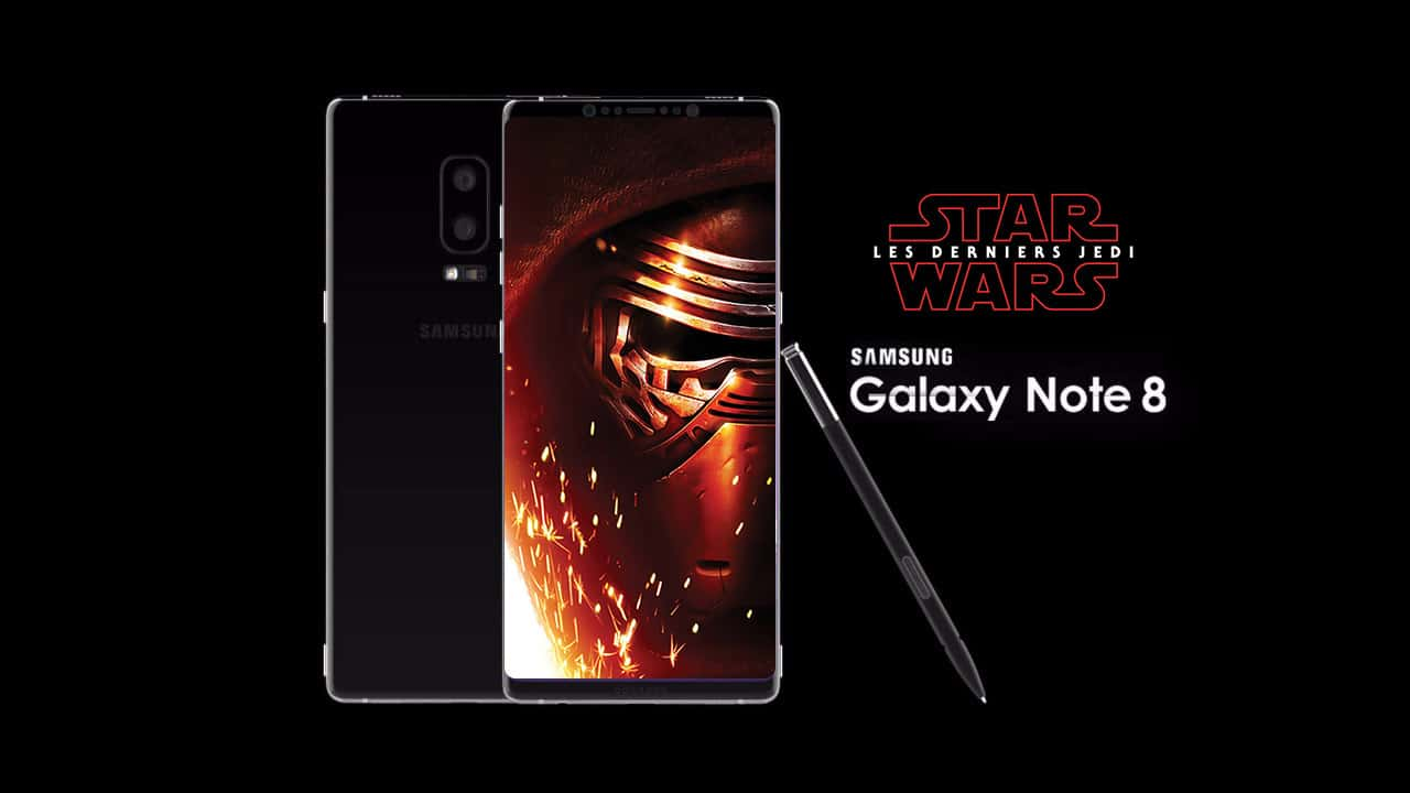 note 8 star wars