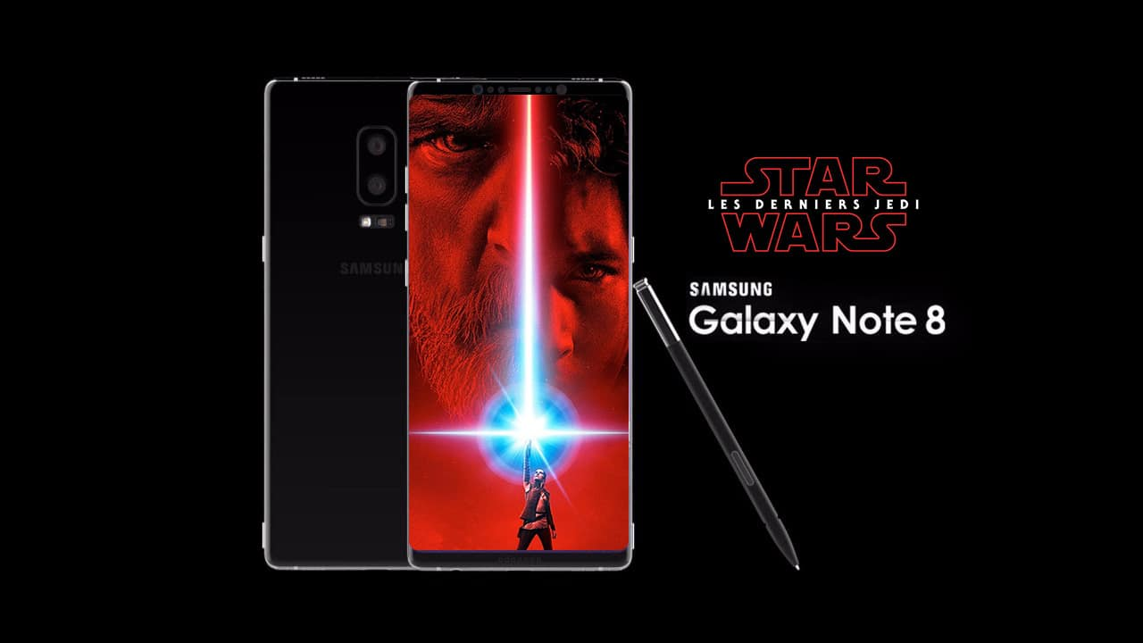 samsung galaxy Note 8 star wars