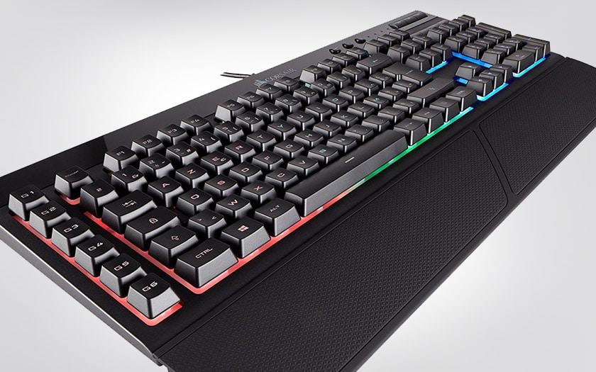 cyber monday corsair k55 clavier gaming