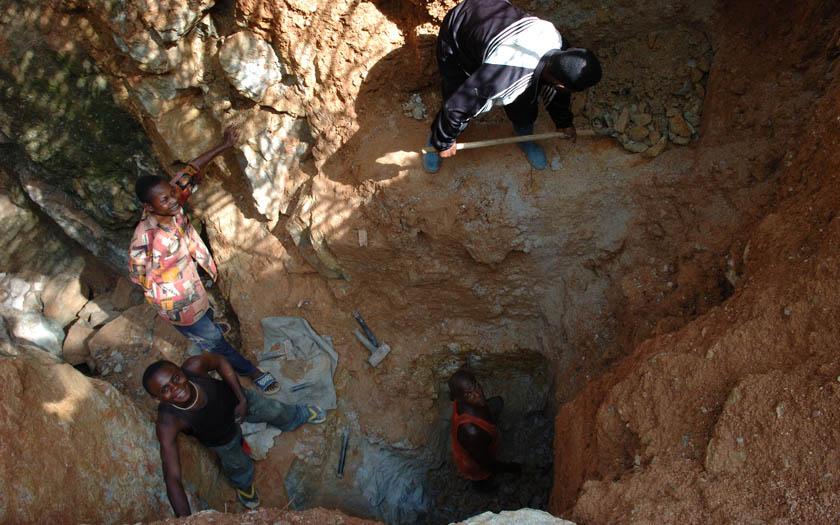 extraction minerai congo
