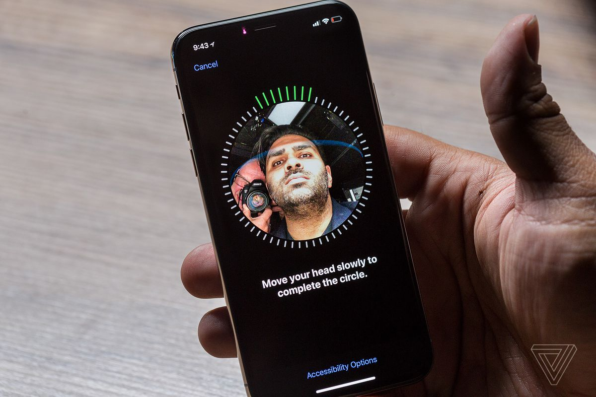 face id iphone x test
