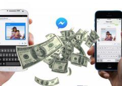facebook messenger transfert argent comment