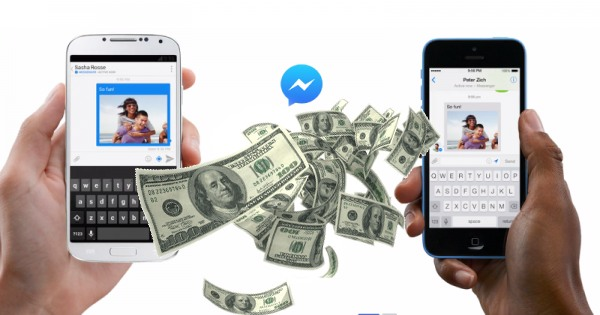 facebook messenger transfert argent amis comment application