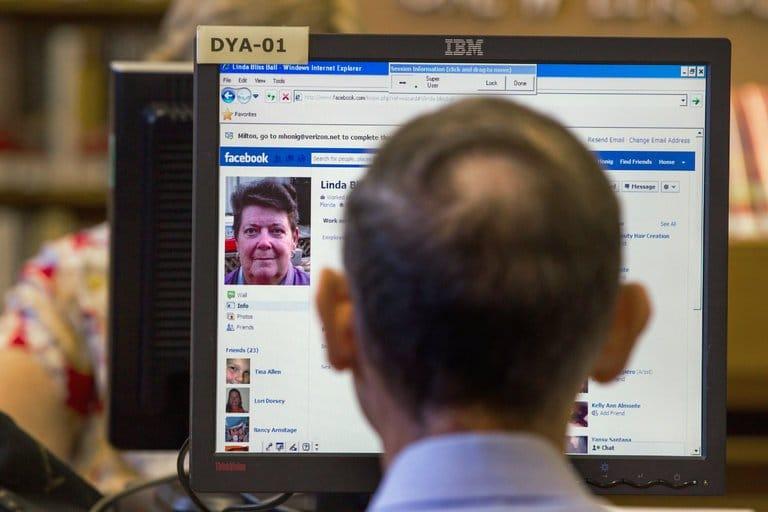 facebook réseau social pour vieux sur le point de mourir