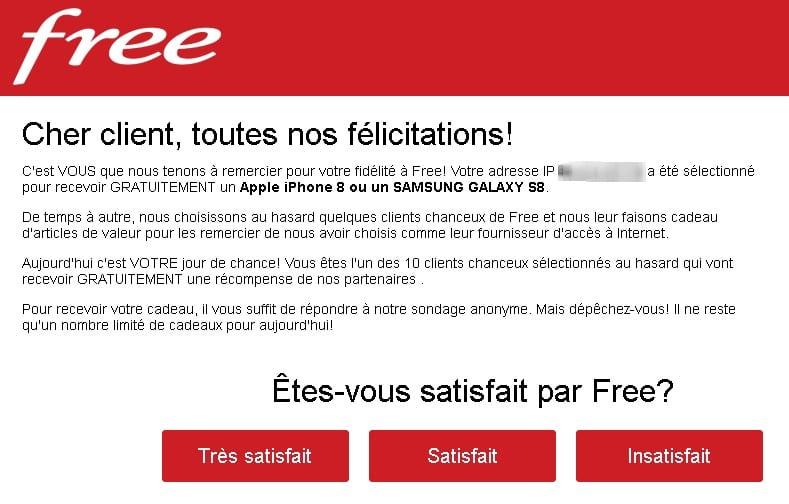 free iphone 8