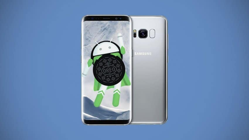 galaxy S8 android oreo beta