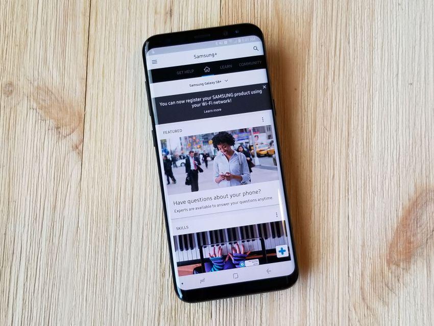 galaxy S8 android oreo vidéo