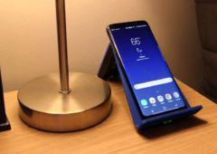 galaxy S8 recharge sans fil problemes samsung confirme