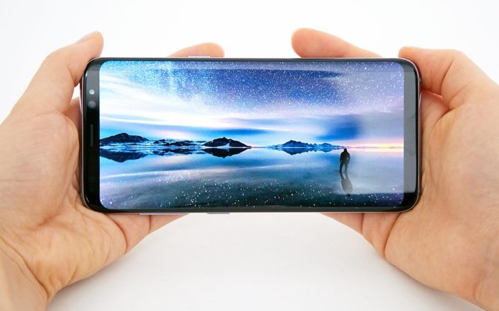 galaxy A5 2018 infinity display