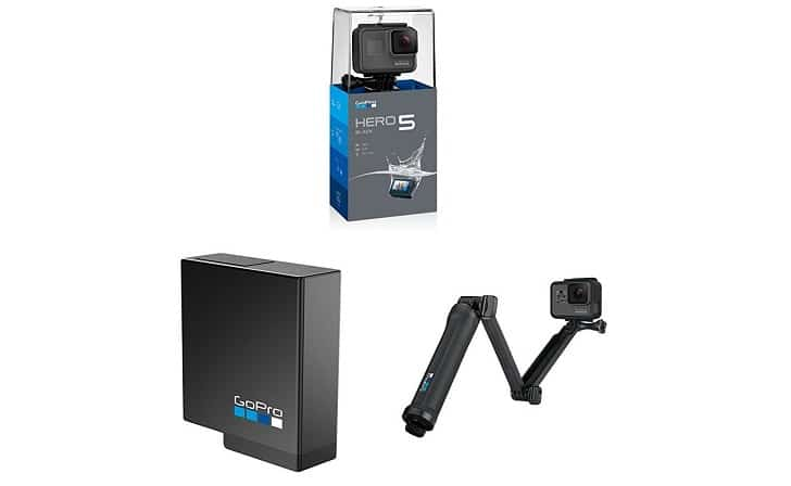 go pro hero5 pack amazon black friaday