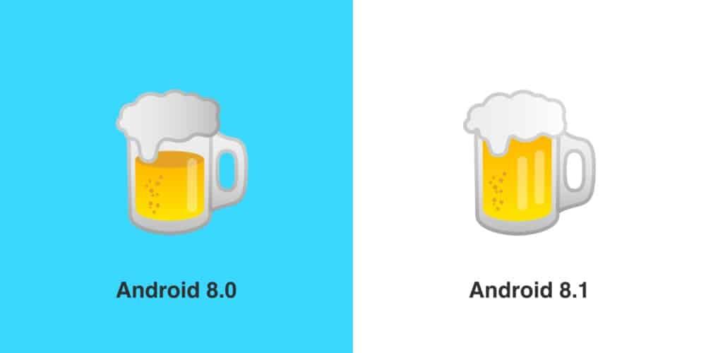 google bière emoji