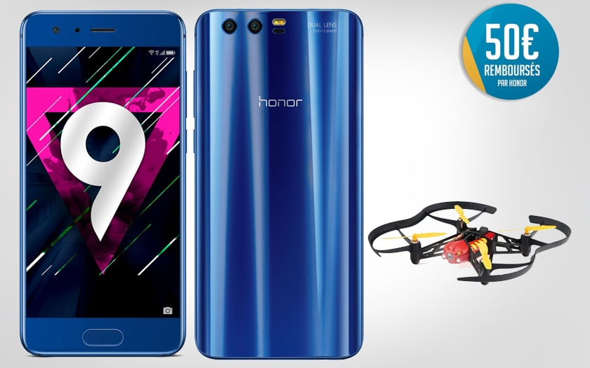 honor 9 parrot airbone cyber monday