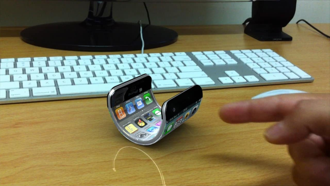 iphone pliable écran flexible brevet