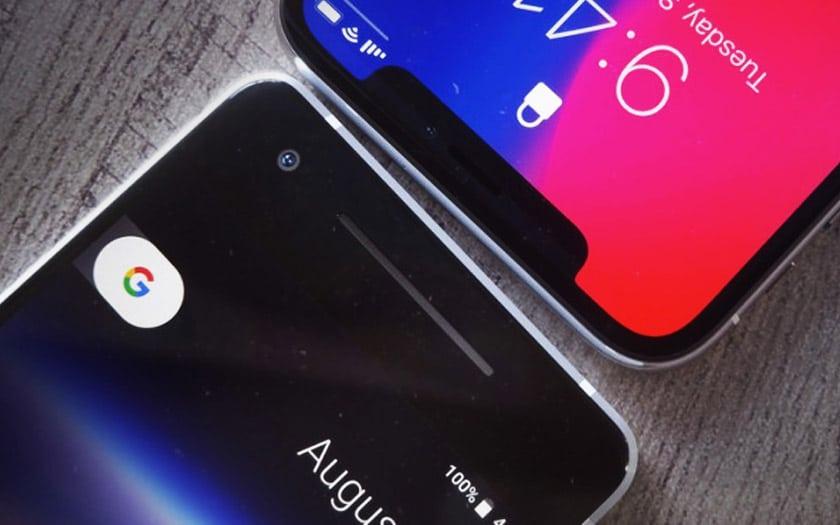iphone x pixel 2