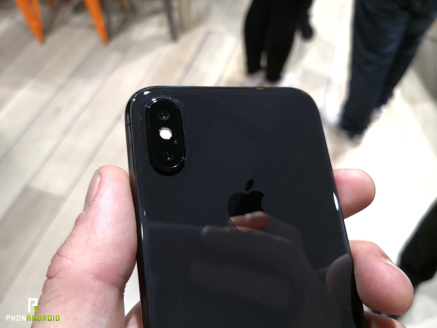 iphone x prise en main appareil photo