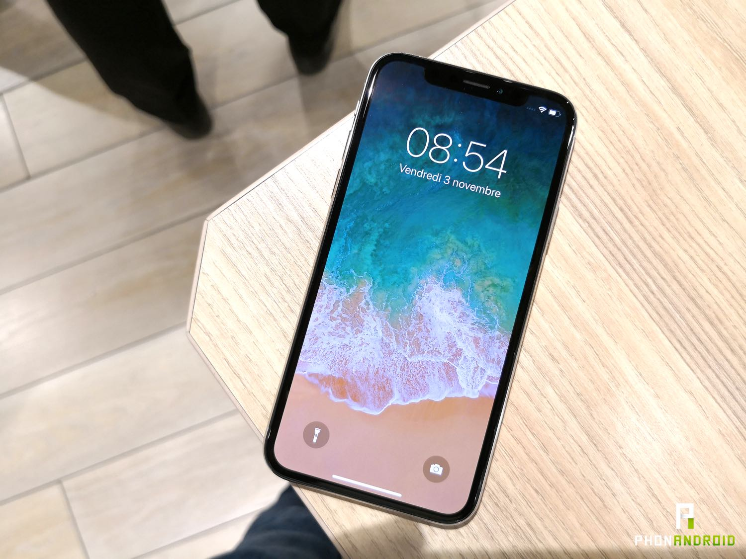 iphone x prise en main