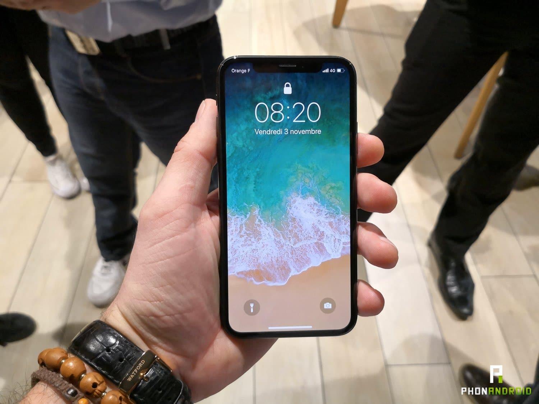 iphone x prise en main ecran