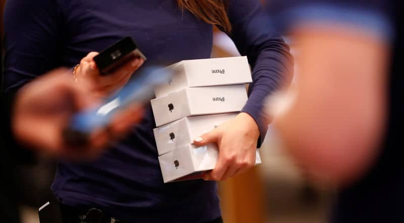 iphone x vol apple store