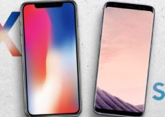 iphone x vs galaxy S8 ados adultes