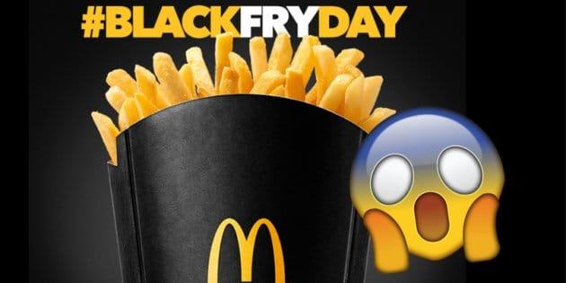 mcdonald's black friday twitter fail