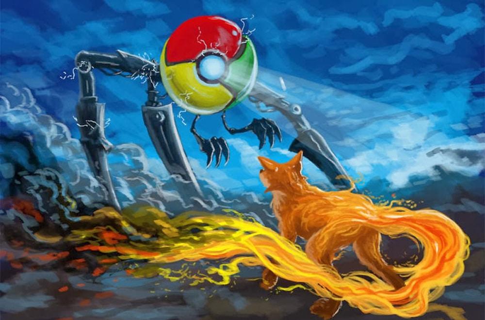 mozilla firefox quantum vs google chrome