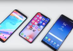 oneplus 5t iphone x galaxy note 8 recharge rapide