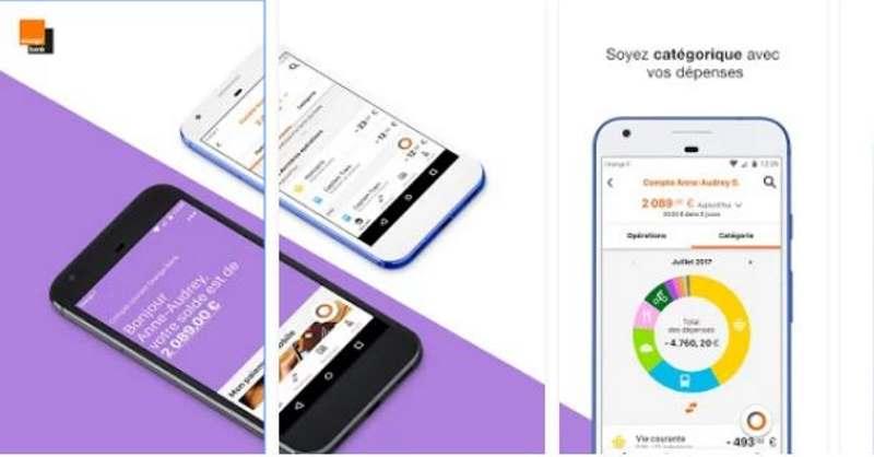 orange bank smartphone