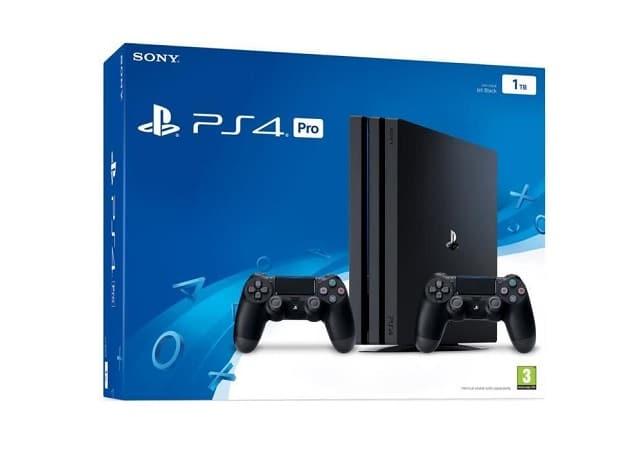 PS4 Pro 1To avec deuxième manette moins cher