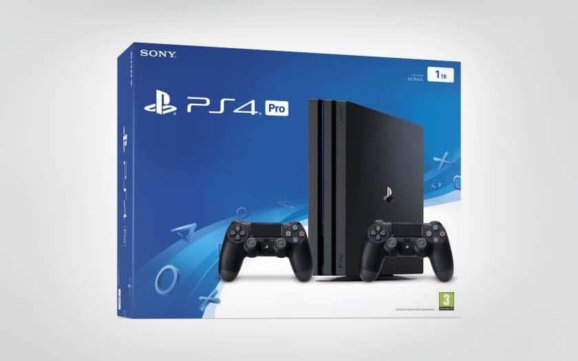 black friday ps4 pro 2 manettes 2 jeux 30 en bon d. Black Bedroom Furniture Sets. Home Design Ideas