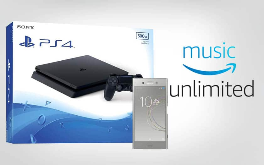 ps4 slim xperia amazon music unlimited