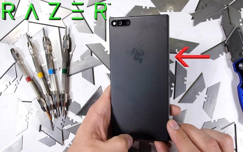 razer phone jerryrigeverything