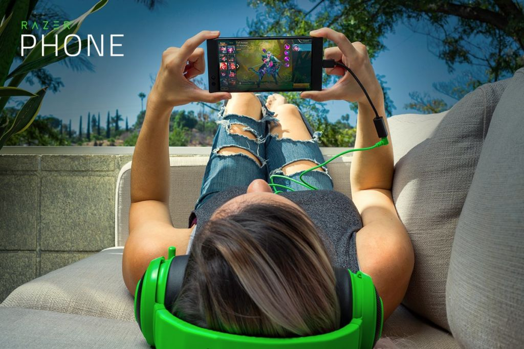 razer phone smartphone gaming