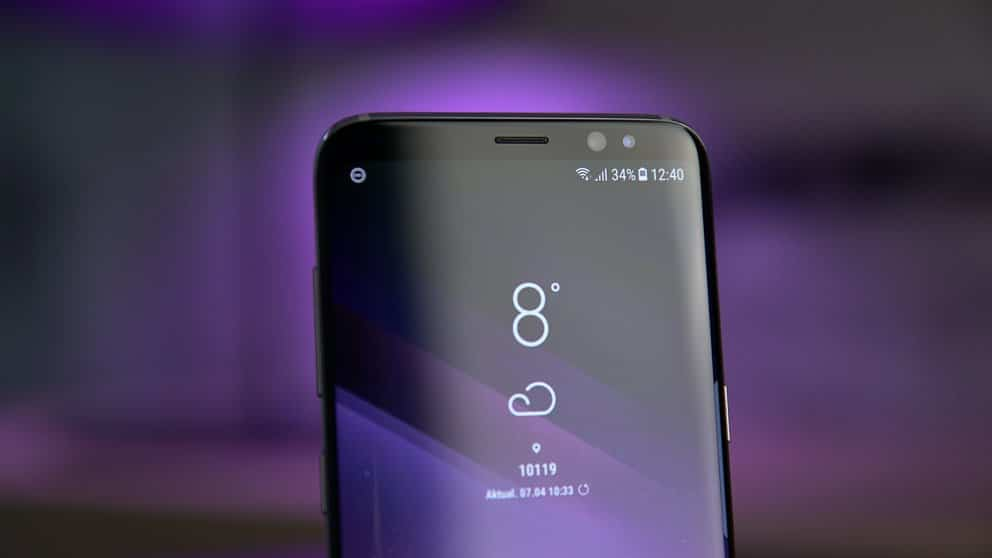 Samsung galaxy a5 2018 d couvrez son double capteur for Photo ecran samsung a5