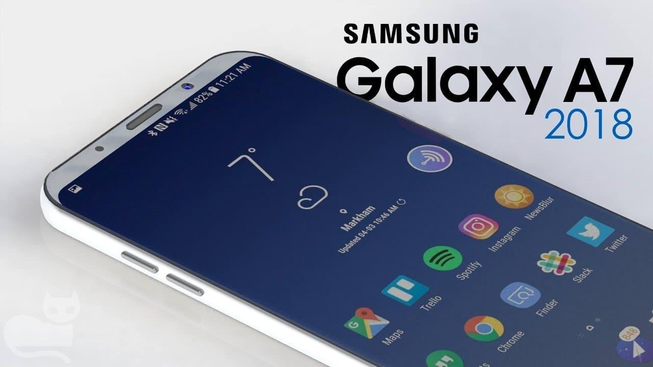 samsung galaxy A7 2018 pas sortie france