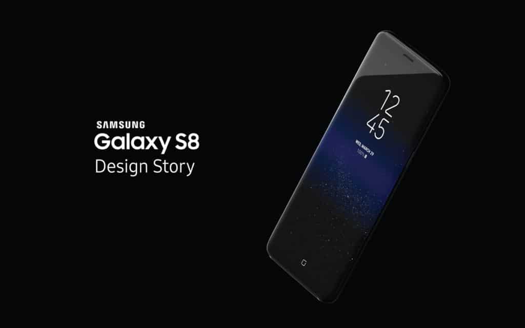 samsung galaxy S8 design innovation awards