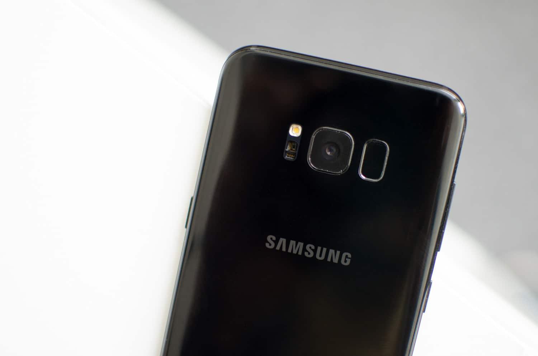 samsung galaxy S8 problème appareil photo focus