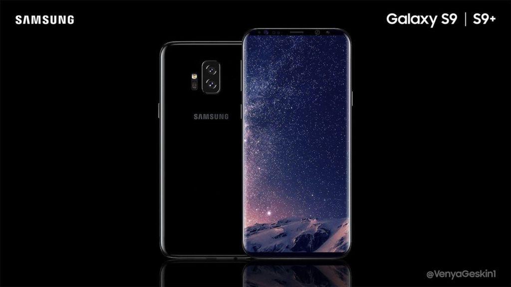 samsung galaxy S9 rendus officiels fuite