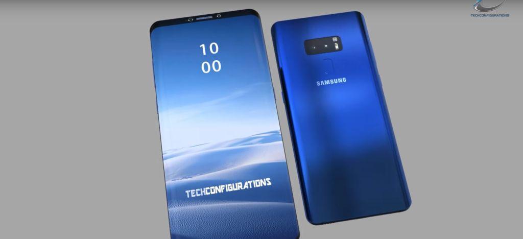 samsung galaxy S9 vidéo concept réaliste