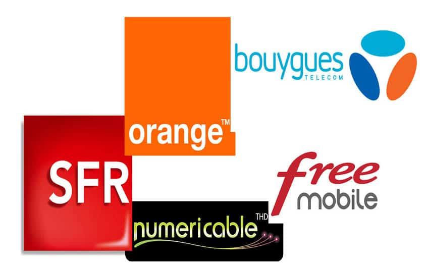 sfr bouygues orange free