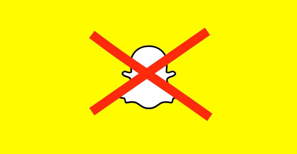 snapchat bloque contact