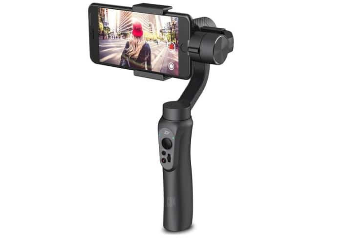 stabilisateur 3 axes Zhiyun Smooth-Q gearbest black friday