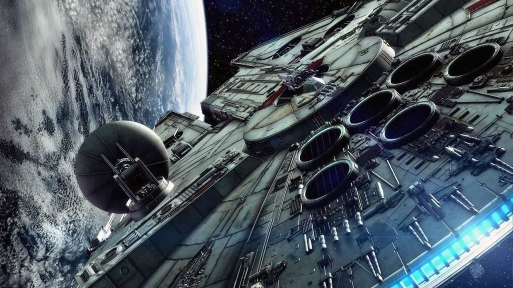 star wars faucon millenium google earth