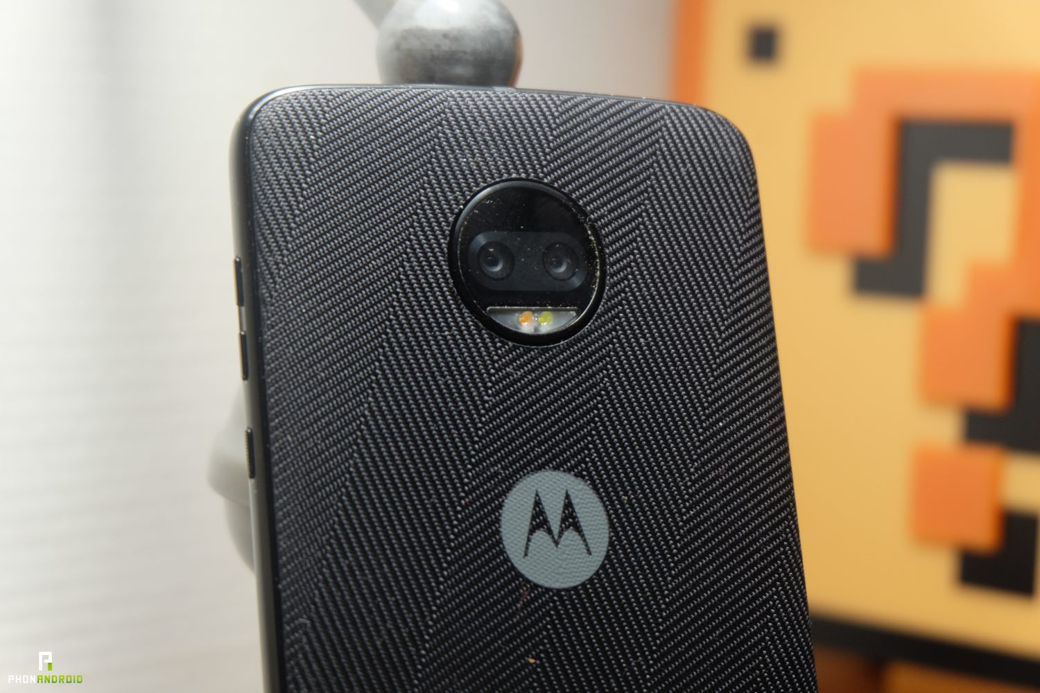 test motorola moto z2 force appareil photo