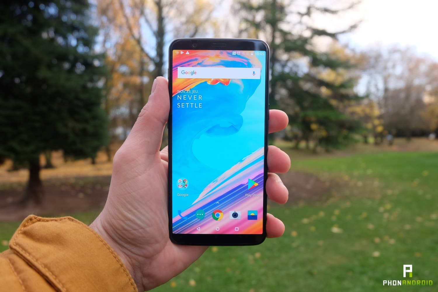 Test Du Oneplus 5t Voici L 39 Anti Iphone X