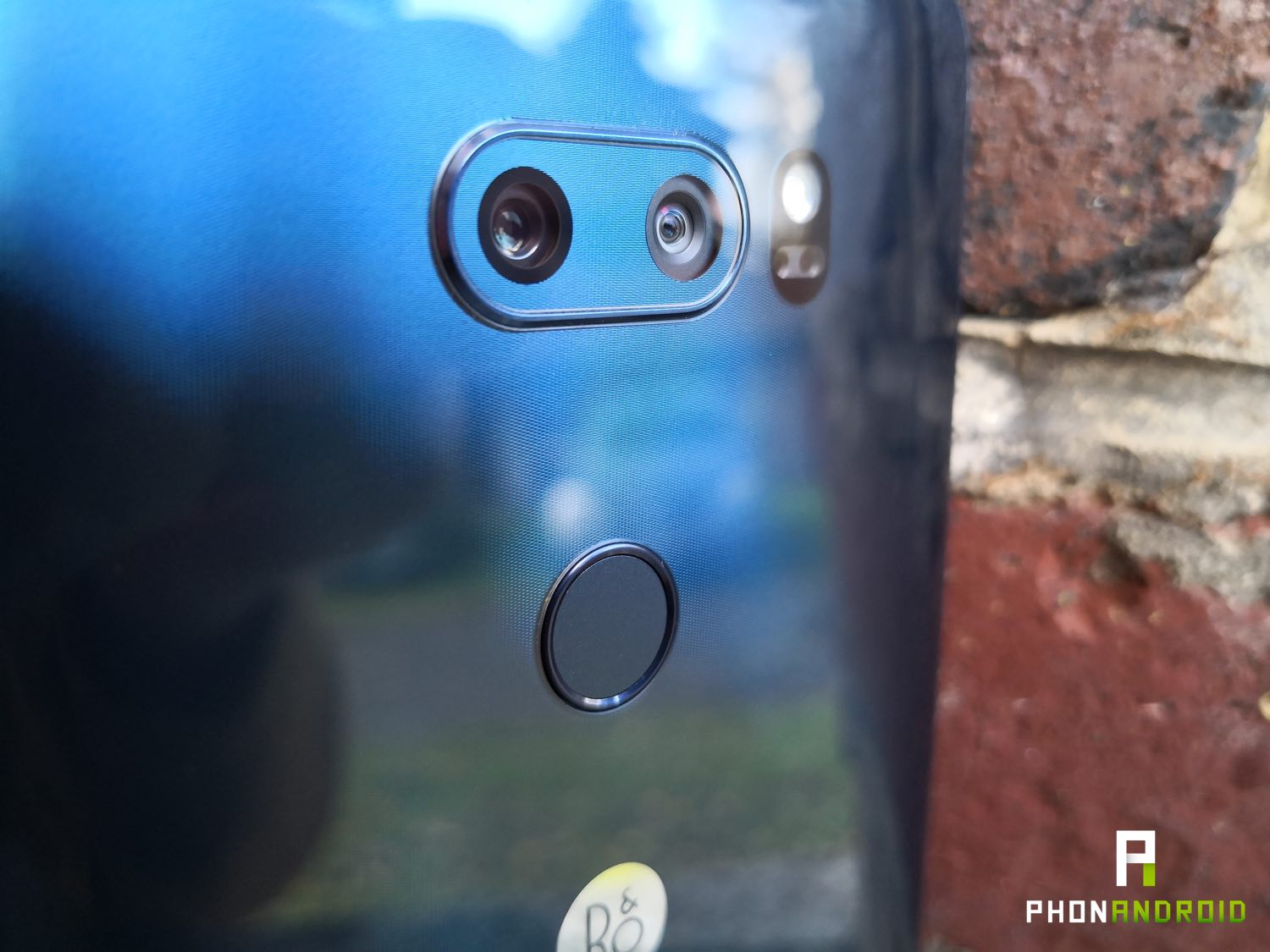 test lg v30 review capteur photo
