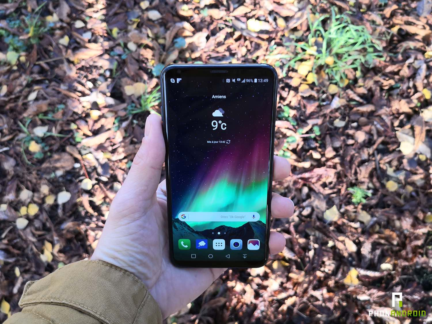 test lg v30 review interface