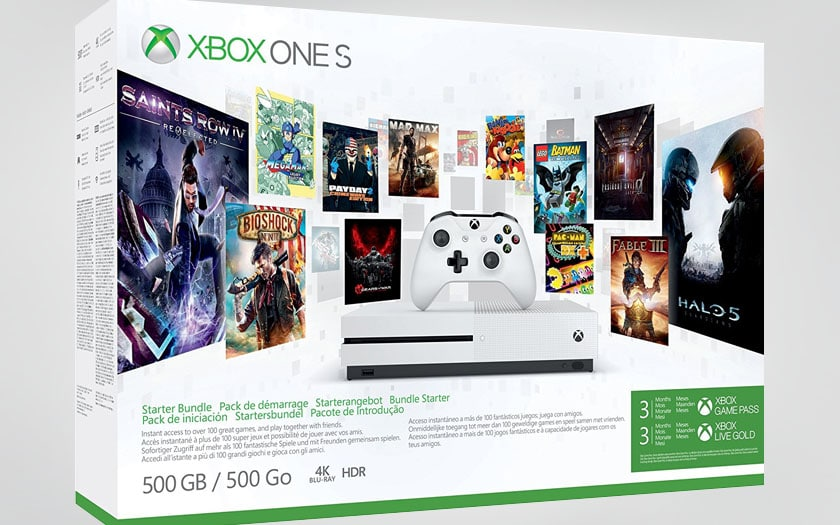 Cyber Monday Xbox One S 500 Go