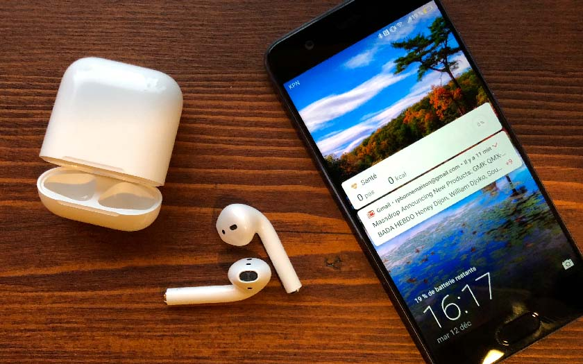 800ccbfc0f5 AirPods : comment les connecter sur un smartphone Android ...
